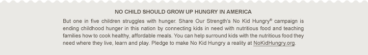 No Kid Hungry dinners