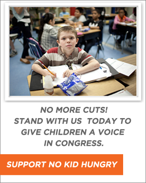 No More Cuts to Programs that Feed Children