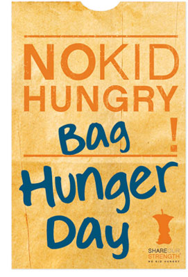 NO KID HUNGRY Bag Hunger Day